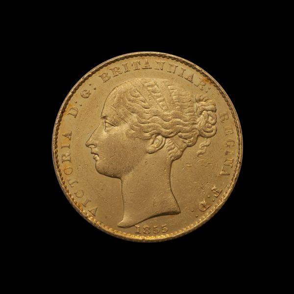 1855 Sydney Mint Sov good EF obv June 2018