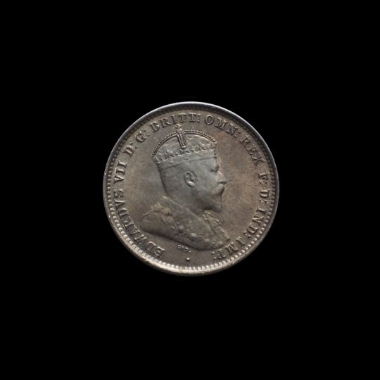 1910 Specimen Threepence obv June 2018