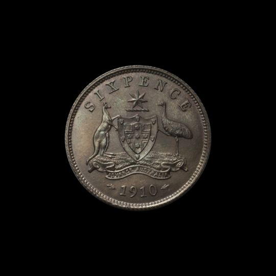 1910 Specimen Sixpence rev June 2018