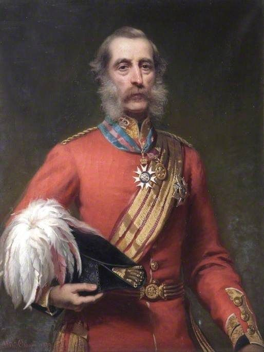 Sir John Henry Lefroy portrait