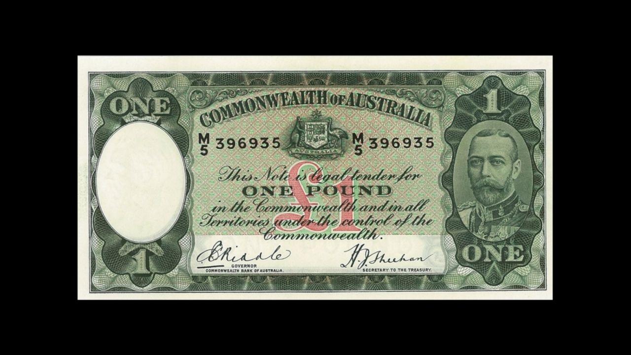 scan 1 1934 Riddle Sheehan £1 Rev