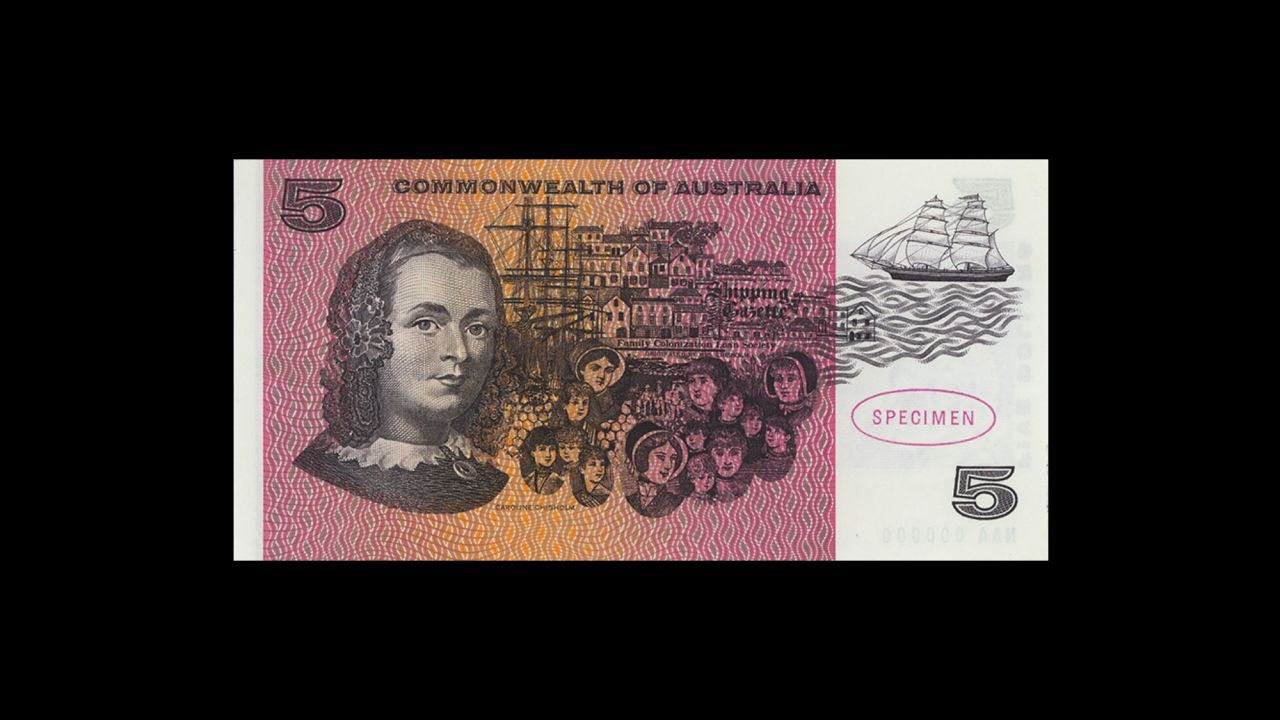 1967 $5 Type 1 Coombs Randall Specimen Note front July 2018