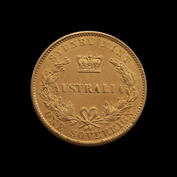 1855 Sydney Mint Sov non date side July 2018