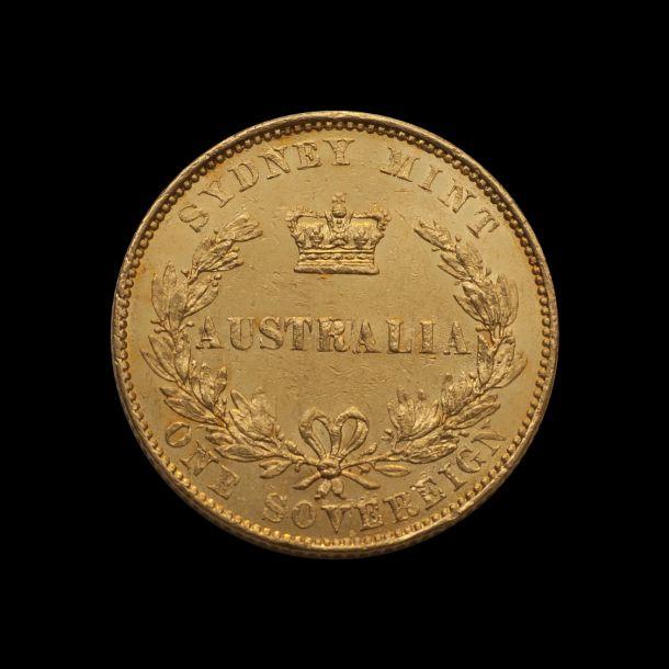 1855 Sydney Mint Sov good EF TECH non date side July 2018