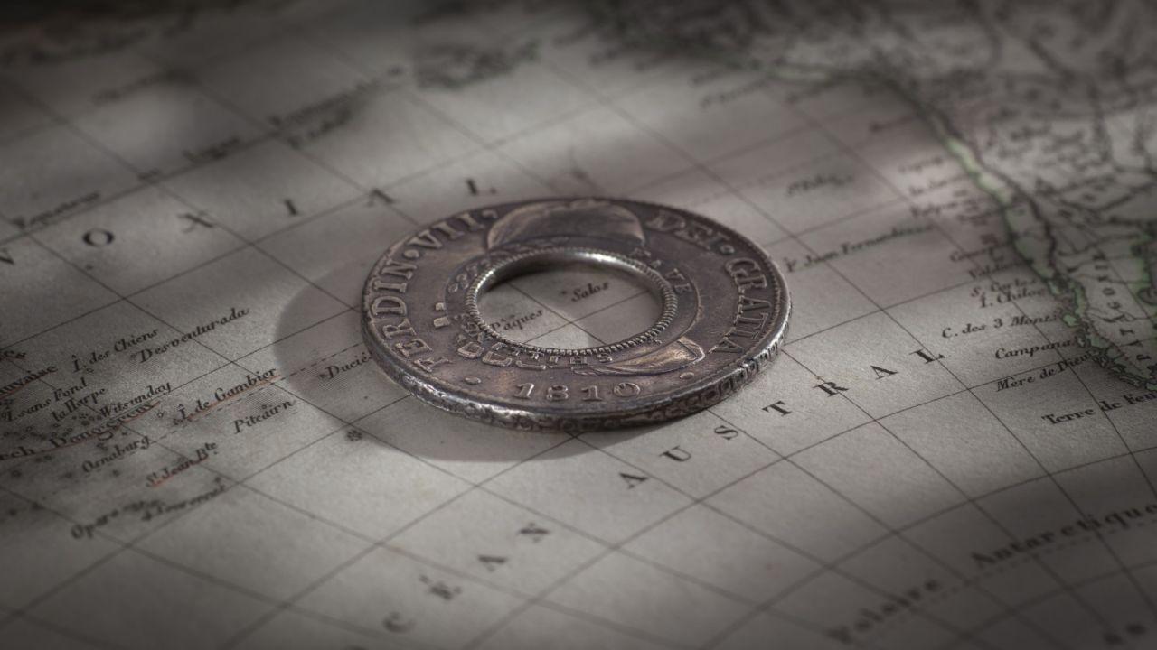 1810 Holey Dollar Obv Mood August