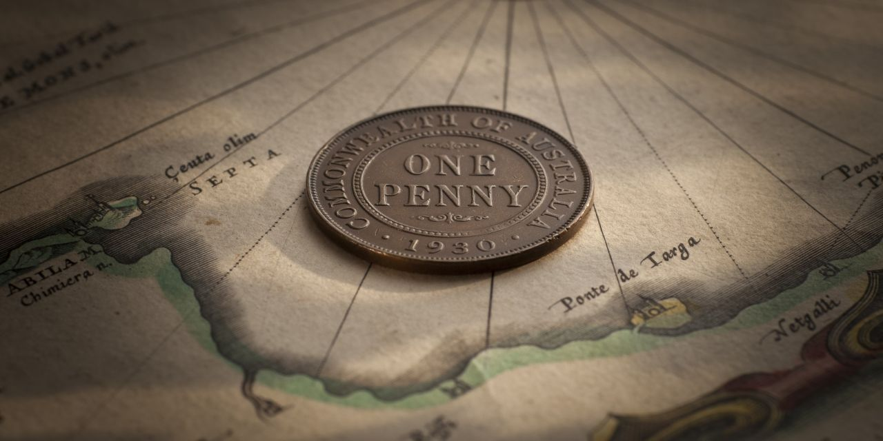 1930 Penny good Fine - about Very Fine rev October 2018