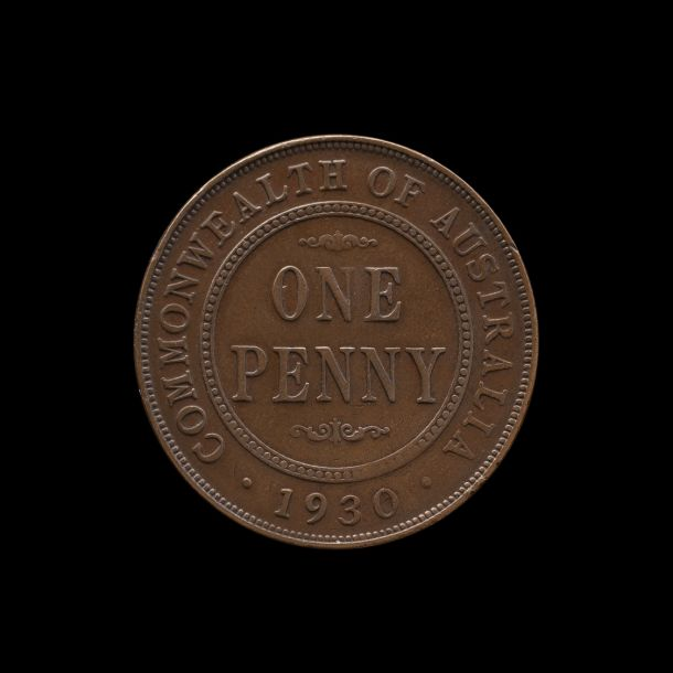 1930 Penny good Fine - about Very Fine rev tech October 2018