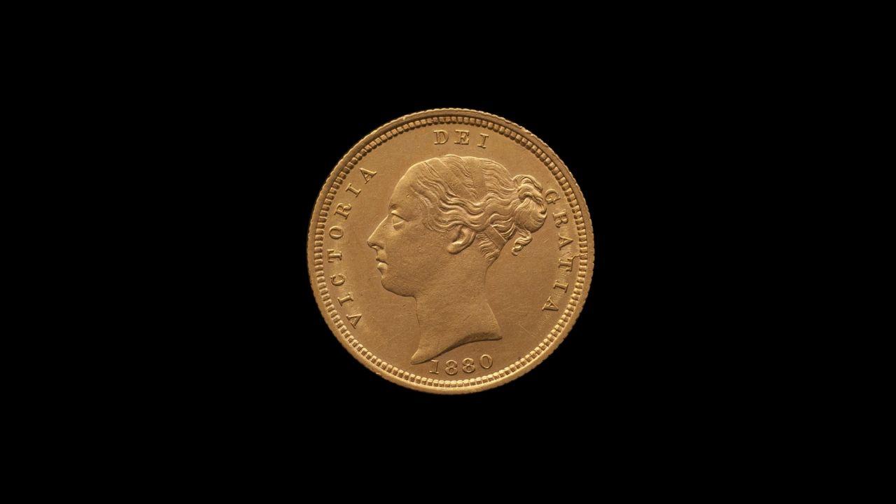 1880 Sydney Mint Half Sovereign YH Shield Choice Unc obv B & B October 2018