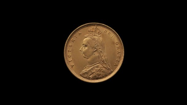 1887 Sydney Mint Half Sovereign Jubilee Head Choice Unc obv B & B October 2018
