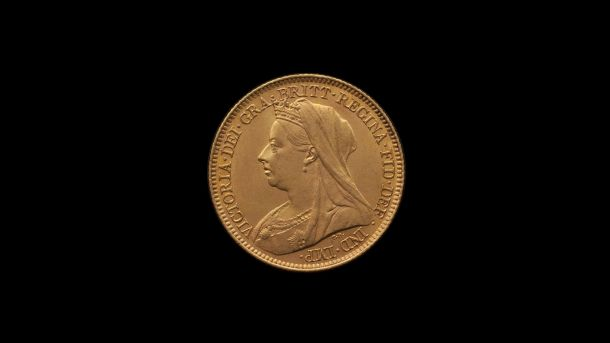 1900 Melbourne Mint Half Sovereign Veilded Head Choice Unc obv B & B October 2018