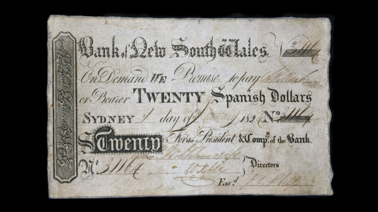 20 Spanish Dollars front view November 2018