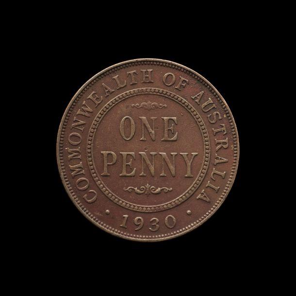 1930 Penny good Fine rev November 2018