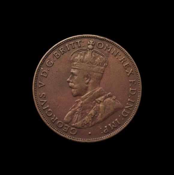 1930 Penny good Fine obv November 2018