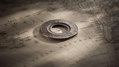 1813 Holey Dollar Charles III 1777 Mex EF rev1 November 2018