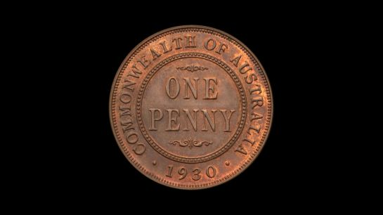 1930 Proof Penny Reverse December 2018