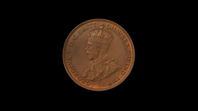 1930 Proof Penny Obverse February 2019