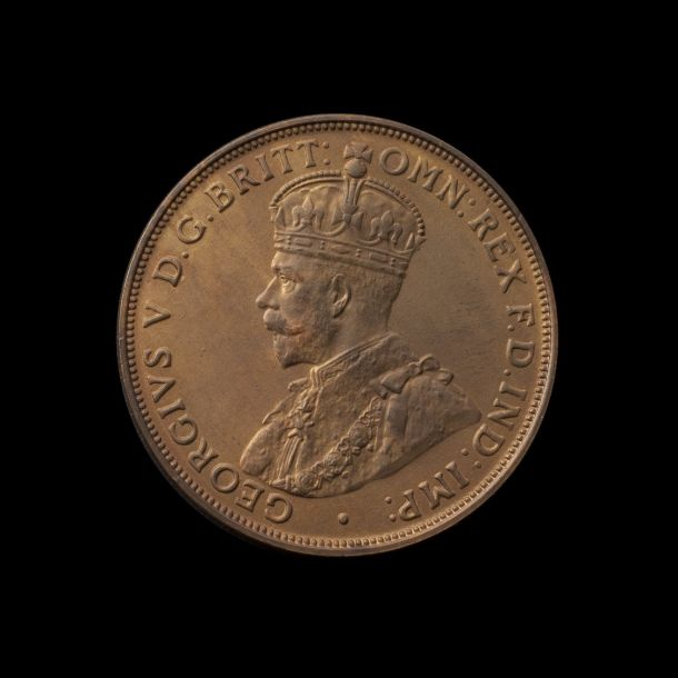 1920 Melbourne Mint Proof Penny FDC obverse tech February 2019