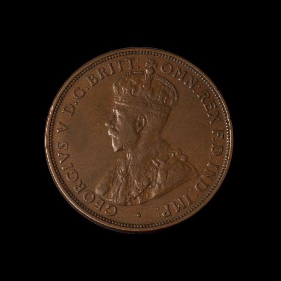 1930 Penny Very Fine obverse tech February 2019