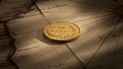 1855 Sydney Mint Sovereign about Unc Reverse February 2019