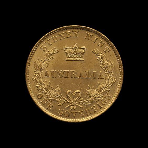1860 Sydney Mint Sovereign Ch Unc Rev tech February 2019