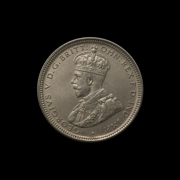 1921 Proof STAR Shilling obv tech March 2019