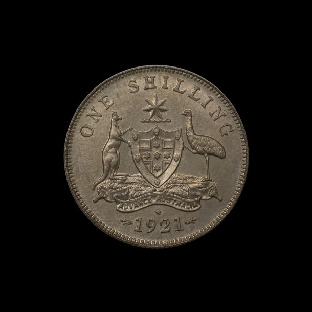 1921 Proof STAR Shilling rev tech March 2019