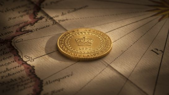 1852 Adelaide Pound Type II Choice Unc rev February 2019