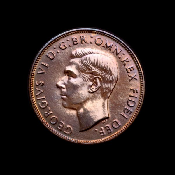 1952 Proof Penny Perth Mint tech April 2019