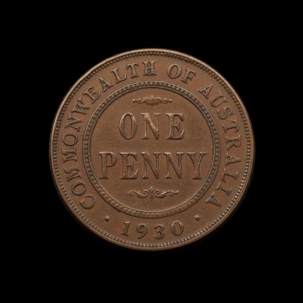 1930 Penny good Fine - about VF REV tech April 2019