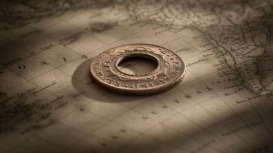 1813-Holey-Dollar-1798-Charles-IIII-good-EF-reverse-July-2019