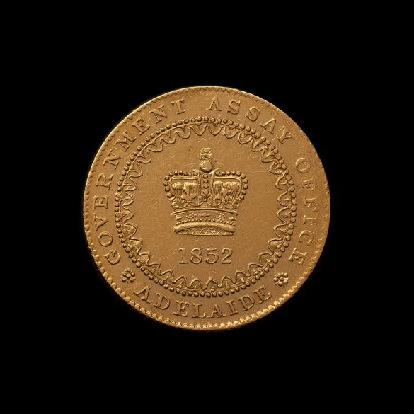 1852-Adelaide-Pound-II-REV-good-EF-Jones-October-2019