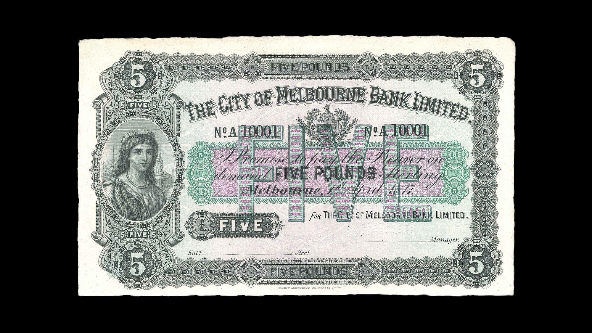 1877-Bank-of-Melbourne-5-Pound-Specimen-Tech-January-2020