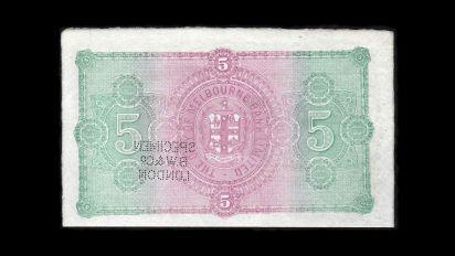 1877-Bank-of-Melbourne-5-Pound-Specimen-Tech-Back-January-2020