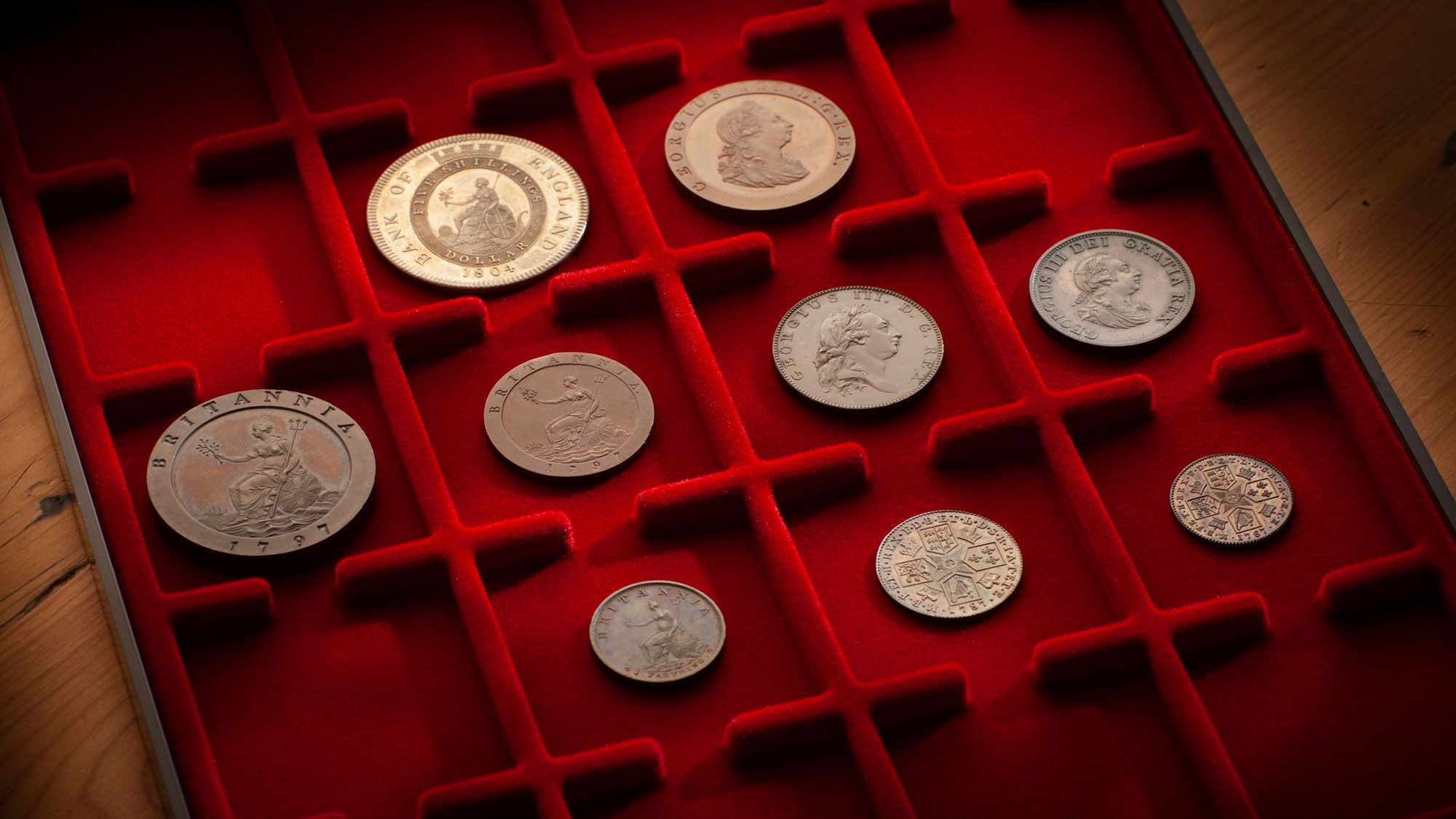 British-coin-collection-Date-February-2020