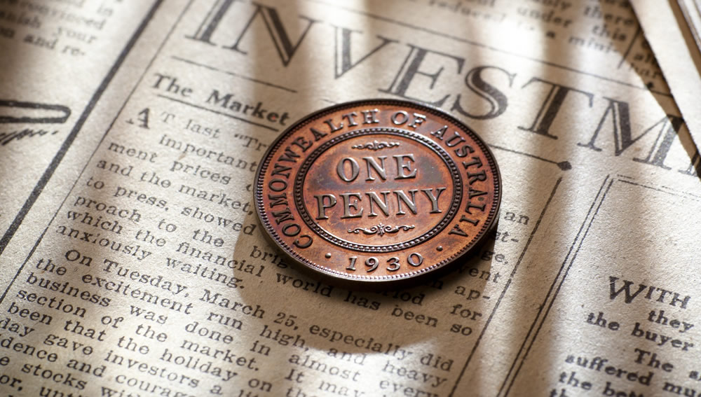The 1930 Proof Penny