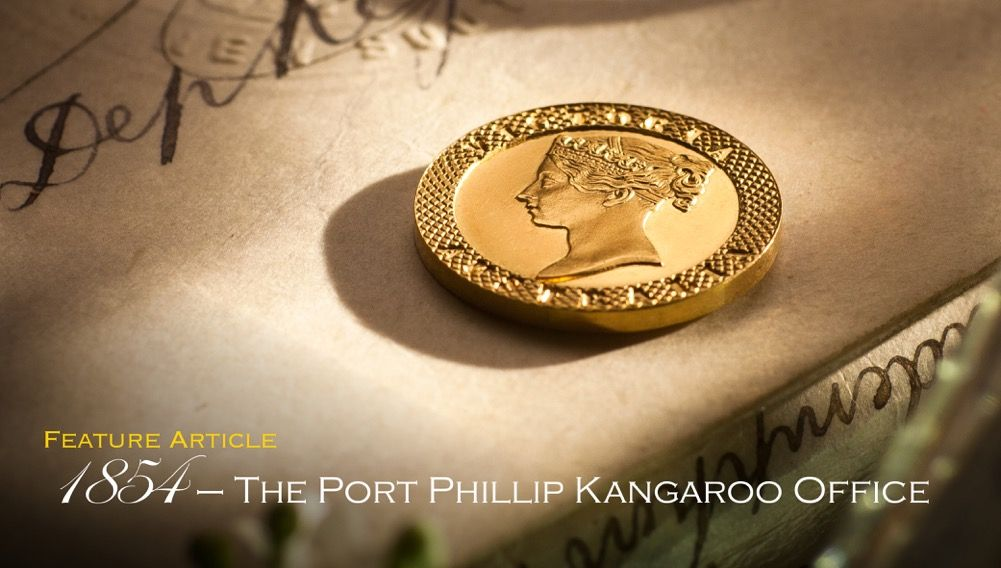 1854 - The Port Phillip Kangaroo Office