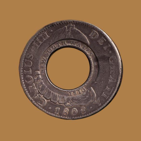 1808-Holey-Dollar-Mexico-Mint-Obv-TECH-3-gVF-aEF