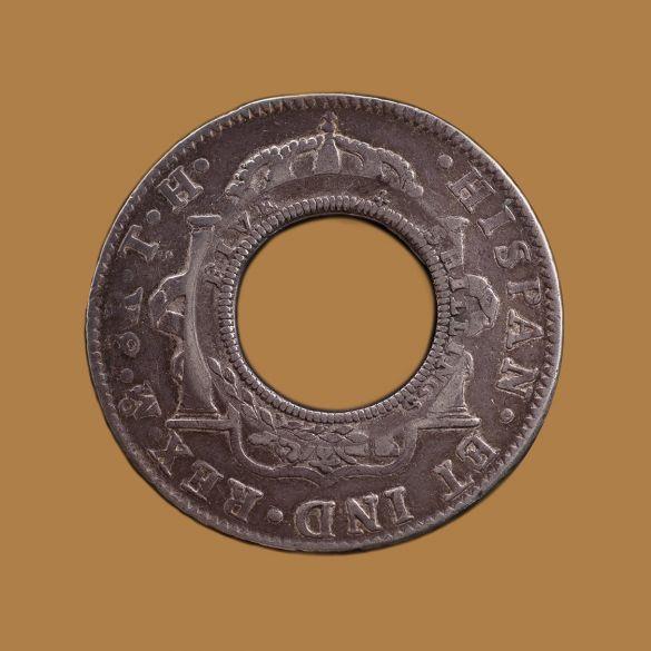 1808-Holey-Dollar-Mexico-Mint-Rev-TECH-3a-gVF-aEF