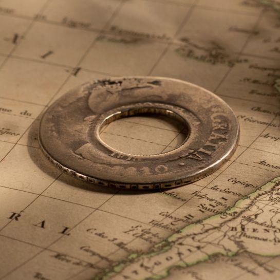 1810-Ferdinand-Holey-Dollar-sold-November-2020