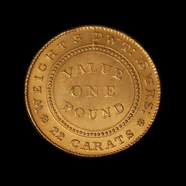 1852-Adelaide-Pound-Type-I-Cracked-Die-aUnc-Rev-TECH-October-2020
