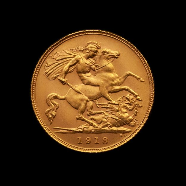 1918-Perth-Mint-Half-Sovereign-Rev-Unc-TECH-January-2021