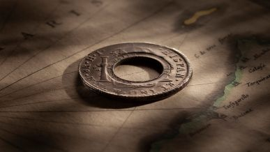 1813-Holey-Dollar-REV-1809-Ferdinand-VI-36314-February-2021