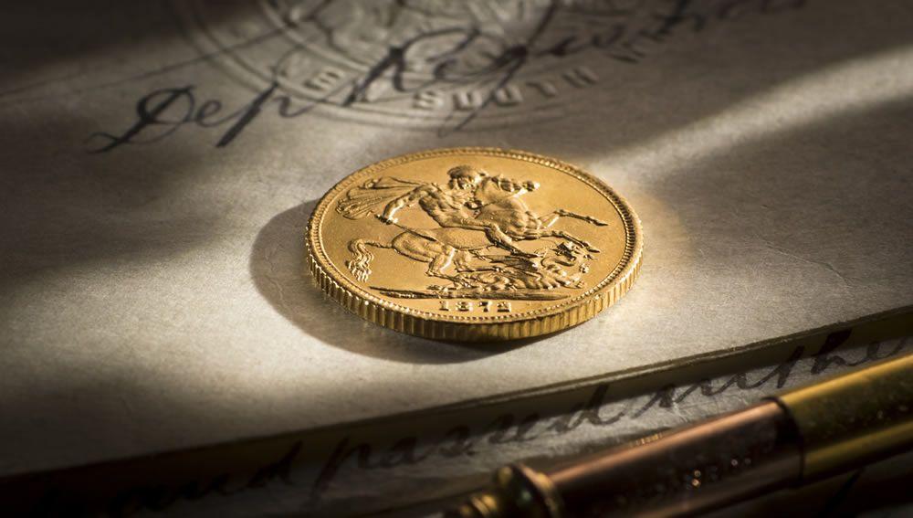 1872 Melb Mint Sov date side