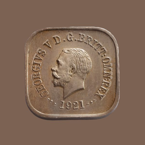1921-Square-Penny-Type-11-Choice-Unc-Obv-TECH-37404-April-2021
