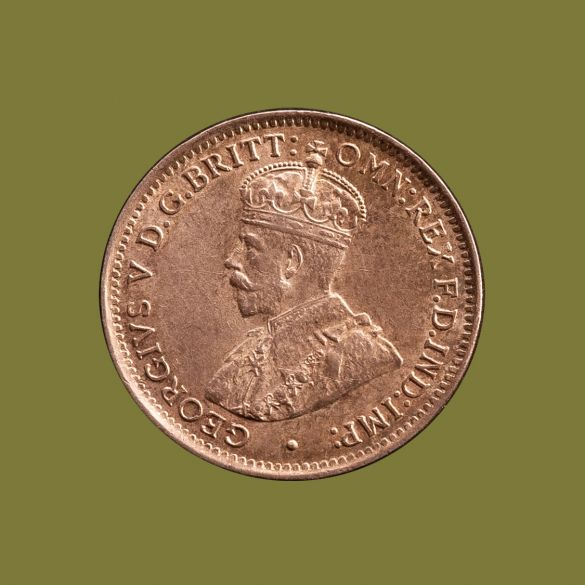 1922---21-Overdate-Threepence-about-Unc-Obv-TECH-36898-April-2021