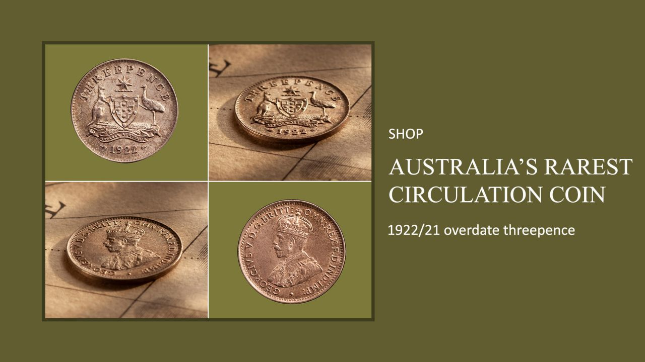 Banner-Full-Band-1-1922---21-Overdate-Threepence-about-Unc-36898-March-2021
