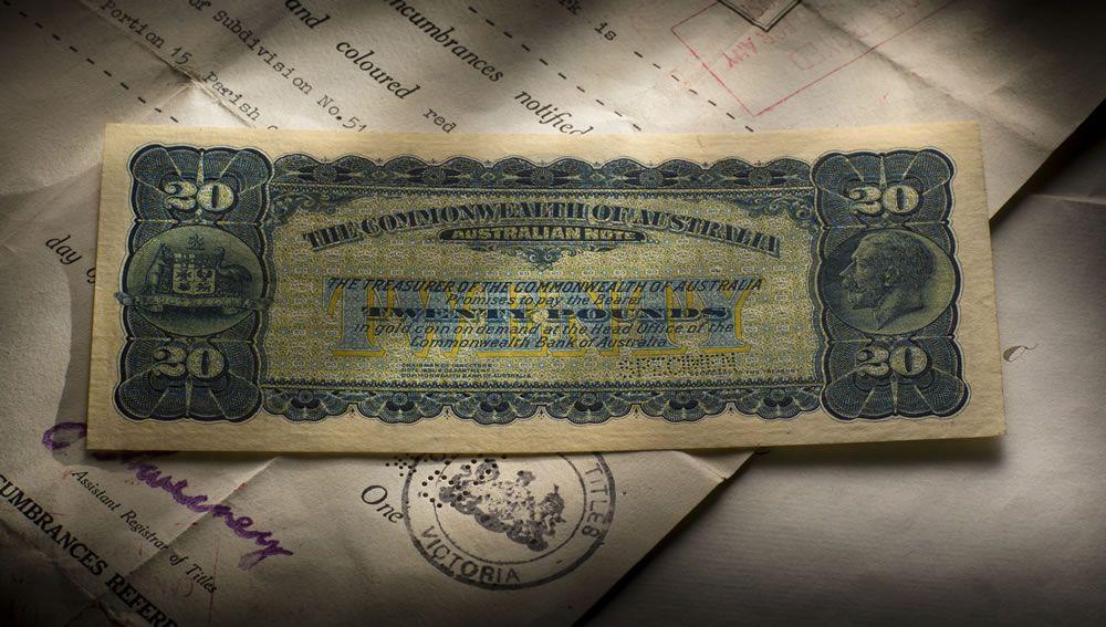 Circa 1924 Twenty Pound