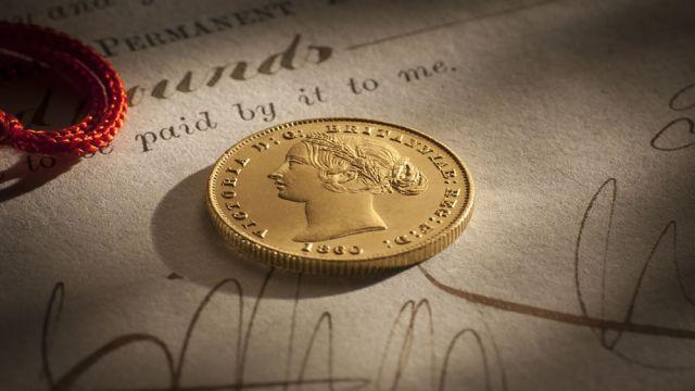 1860 Sydney Mint date side