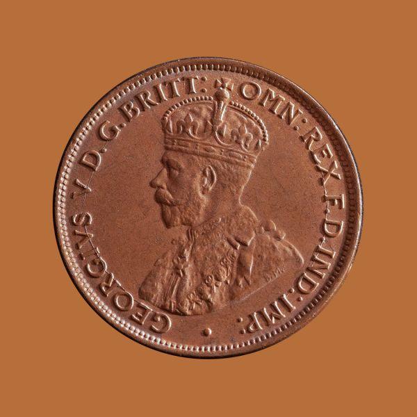 1923-Halfpenny-chUNC-obv-36525-June-2021