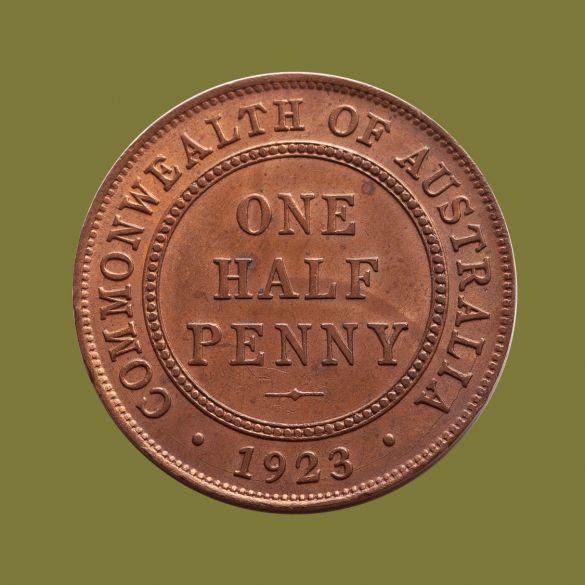 1923-Halfpenny-chUNC-rev-36525-July-2021